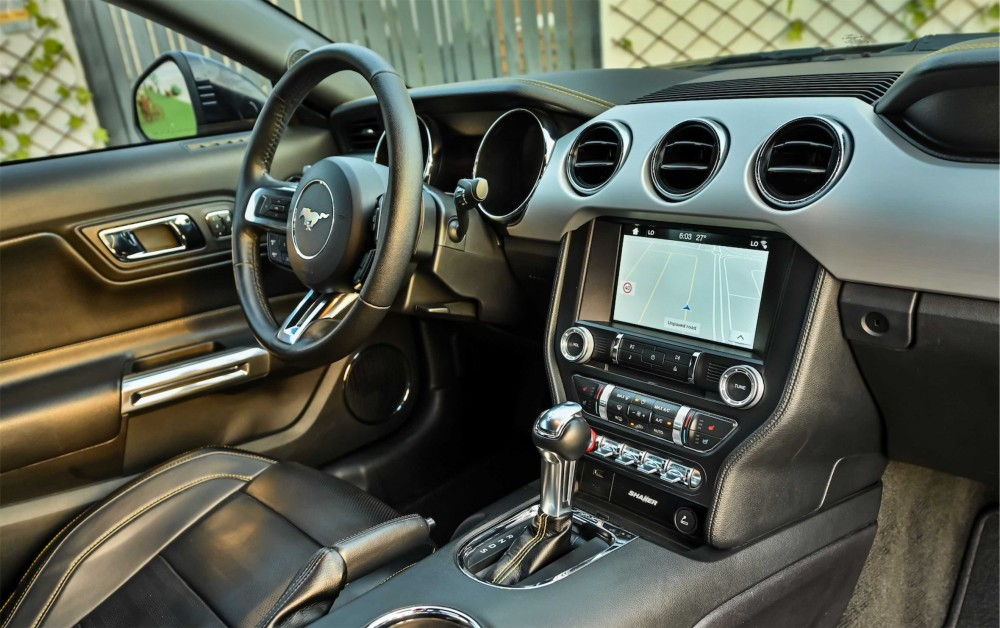 buy slightly used Ford Mustang Ecoboost in Dubai
