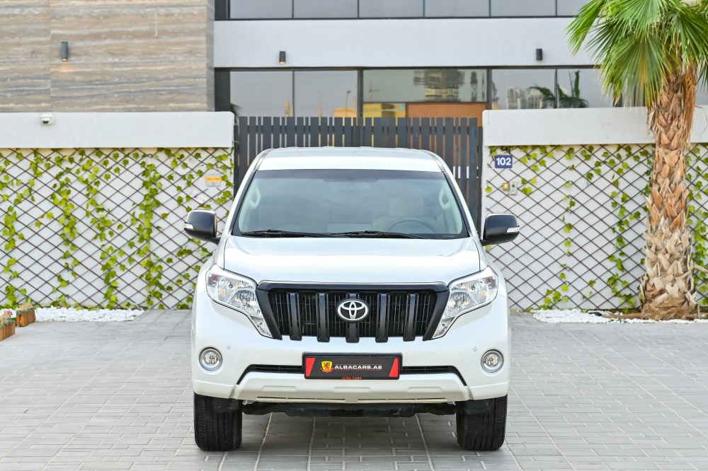 buy pre-owned Toyota Prado EXR without downpayment