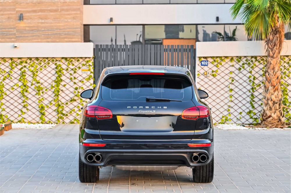 buy second hand Porsche Cayenne S without downpayment