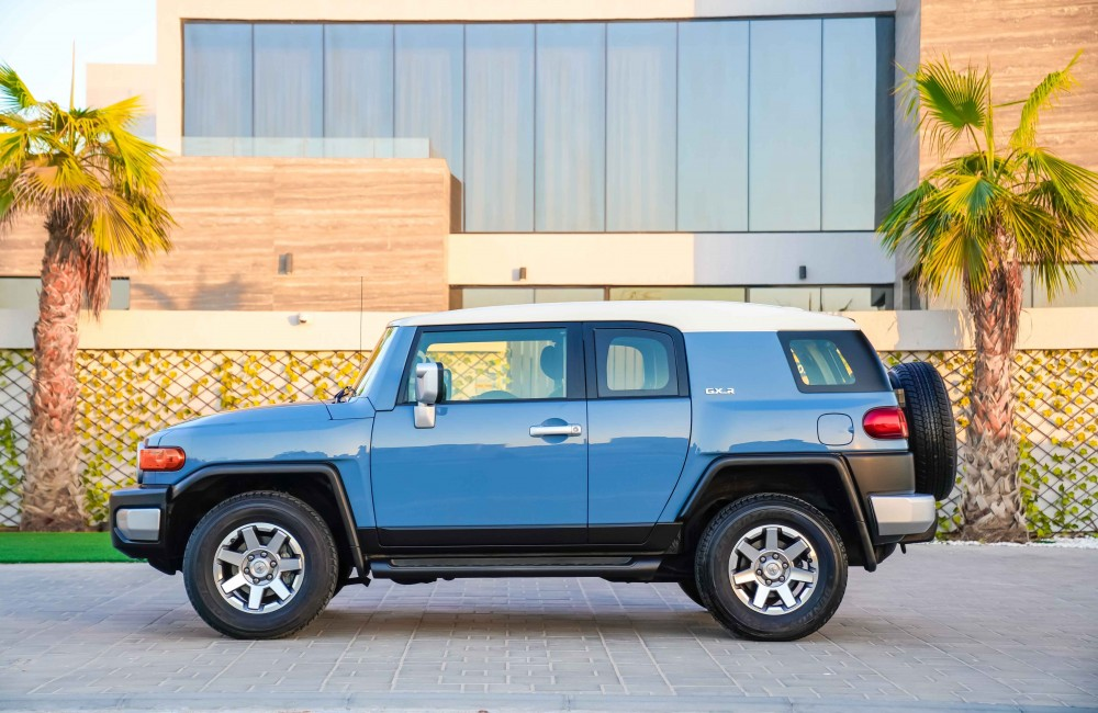 buy used Toyota FJ Cruiser without downpayment