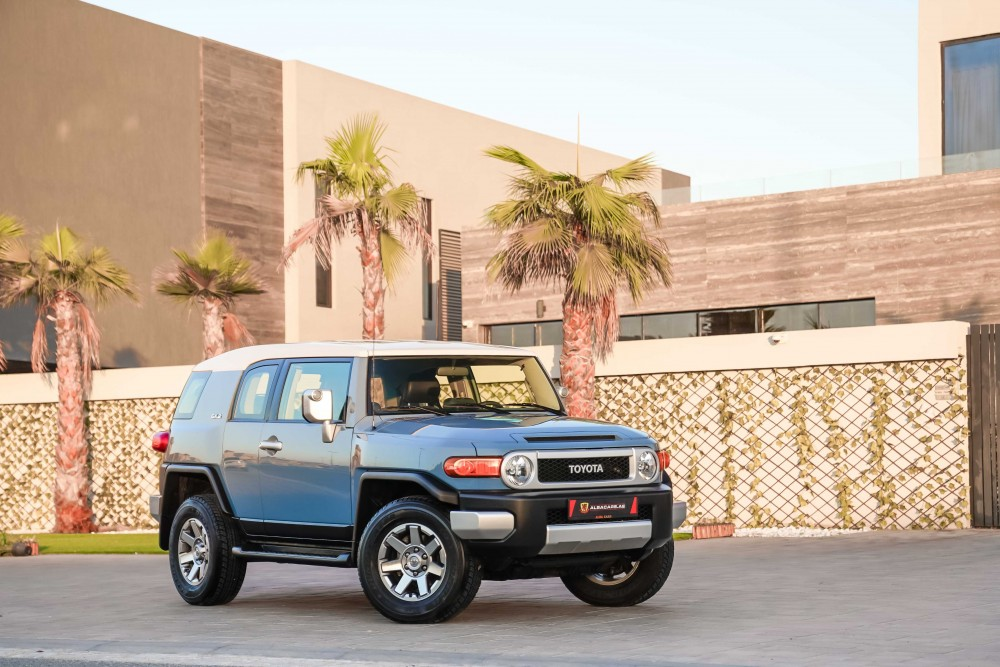 buy approved Toyota FJ Cruiser with warranty