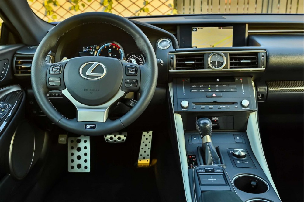 buy used Lexus RCF 5.0L V8 with warranty