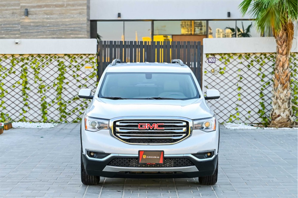 buy slightly used GMC Acadia without downpayment
