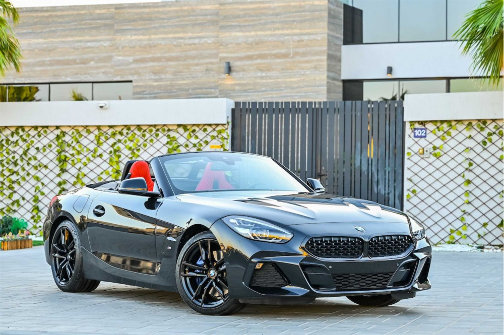 buy slightly used BMW Z4 M-Sport without downpayment