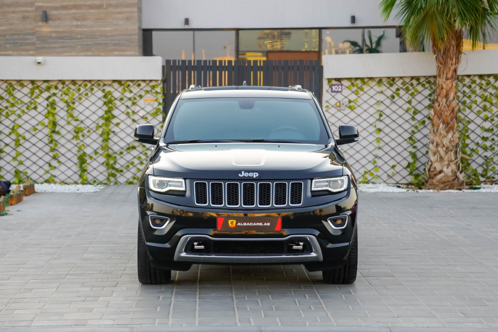 buy used Jeep Grand Cherokee Overland without downpayment