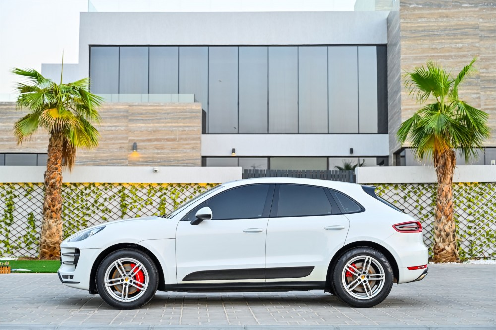buy used Porsche Macan Turbo with warranty
