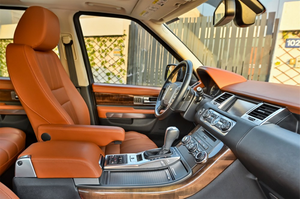 buy slightly used Range Rover Sport V8 5.0SC without downpayment
