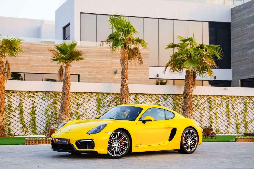 buy approved Porsche Cayman GTS without downpayment