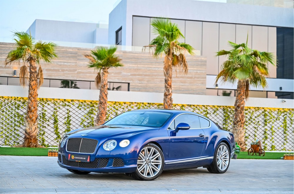 buy second hand Bentley Continental GT Speed W12 without downpayment