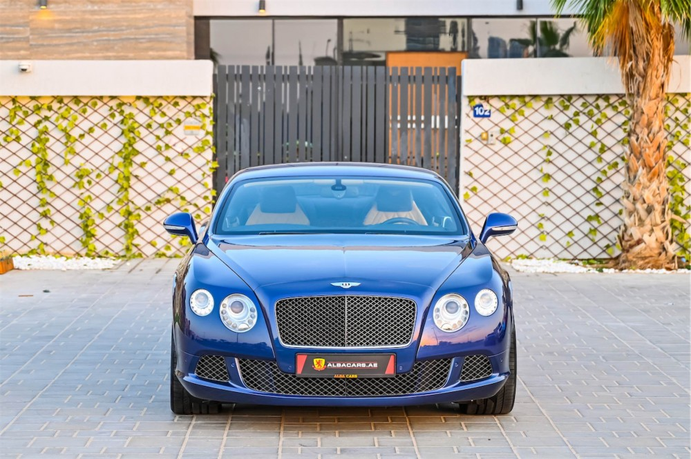 buy used Bentley Continental GT Speed W12 with warranty
