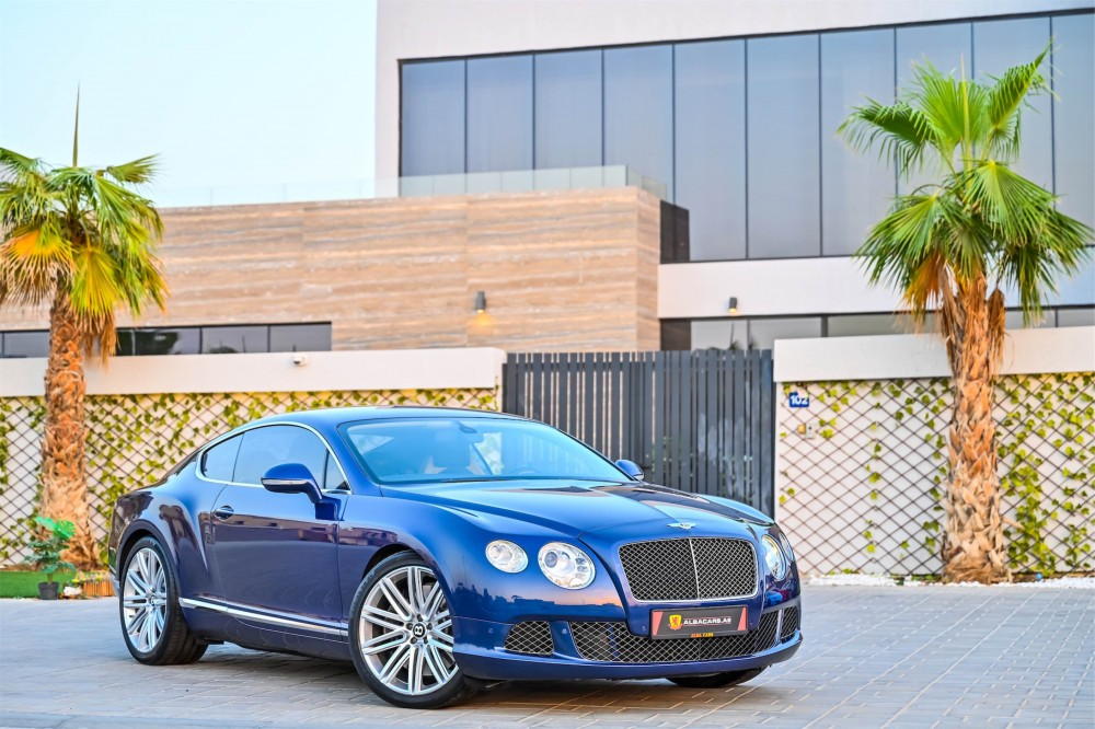 buy used Bentley Continental GT Speed W12 without downpayment