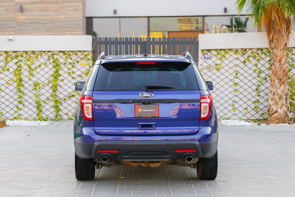 buy certified Ford Explorer XLT with warranty