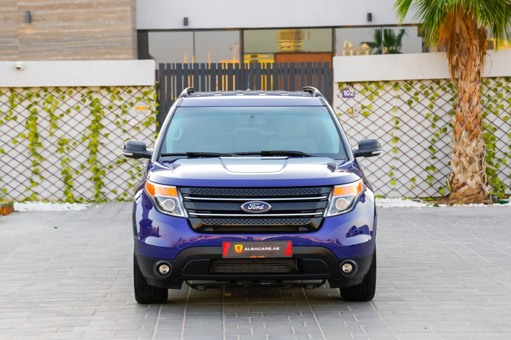 buy used Ford Explorer XLT without downpayment