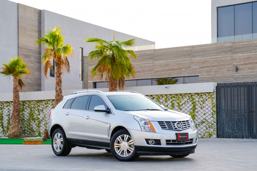 buy slightly used Cadillac SRX4 without downpayment