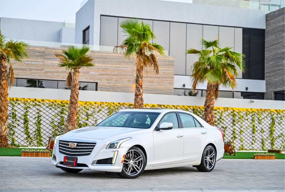 buy second hand Cadillac CTS in Dubai