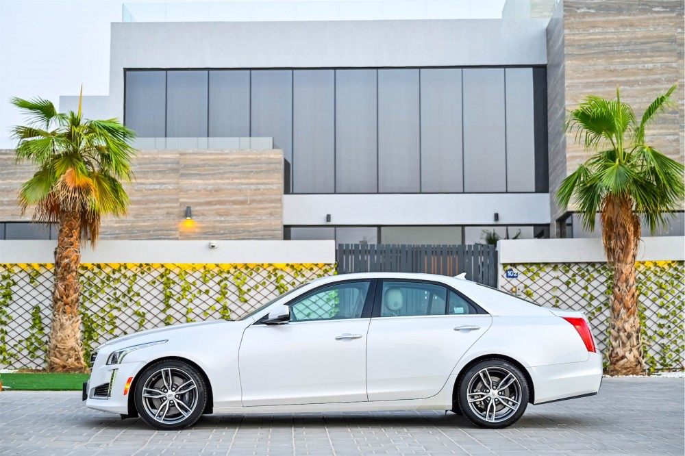 buy used Cadillac CTS with warranty