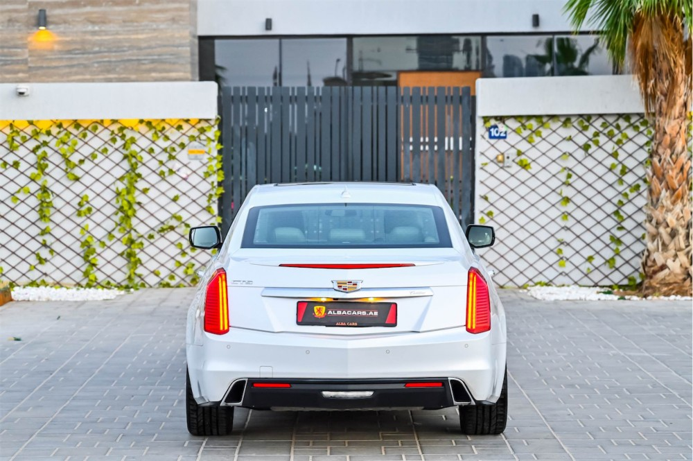 buy second hand Cadillac CTS with warranty
