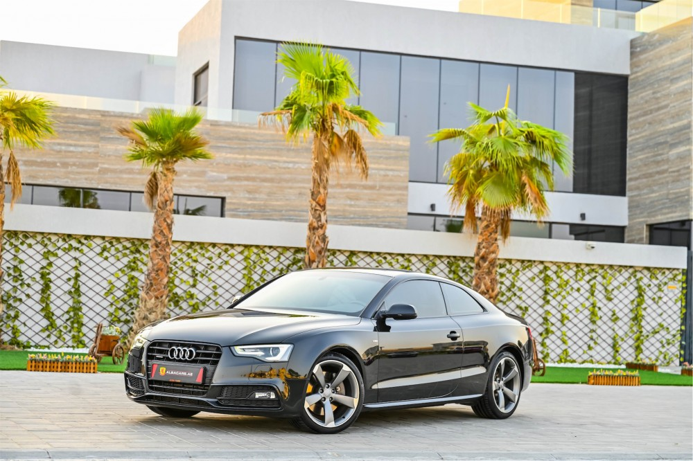 buy used Audi A5 Coupe without downpayment