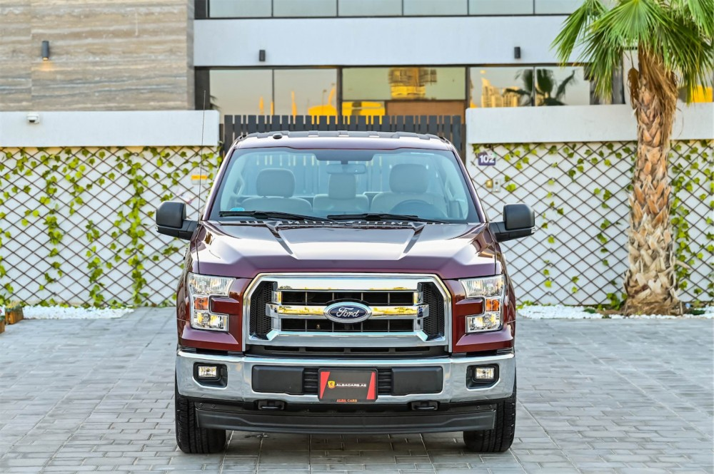 buy second hand Ford F-150 XLT with warranty