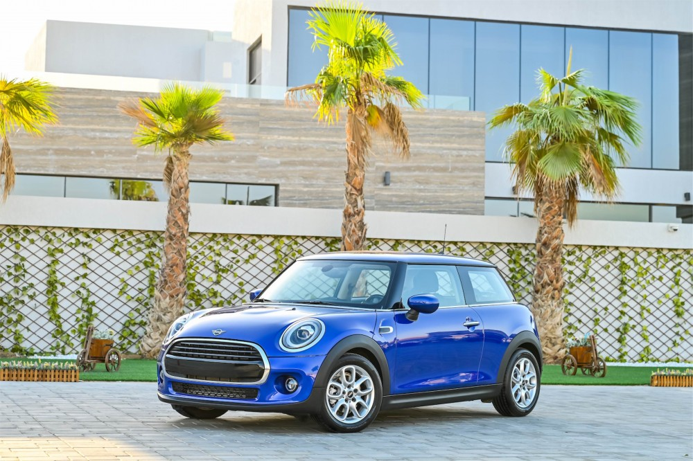 buy slightly used Mini Cooper without downpayment