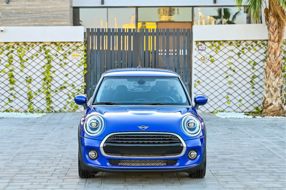 buy slightly used Mini Cooper with warranty