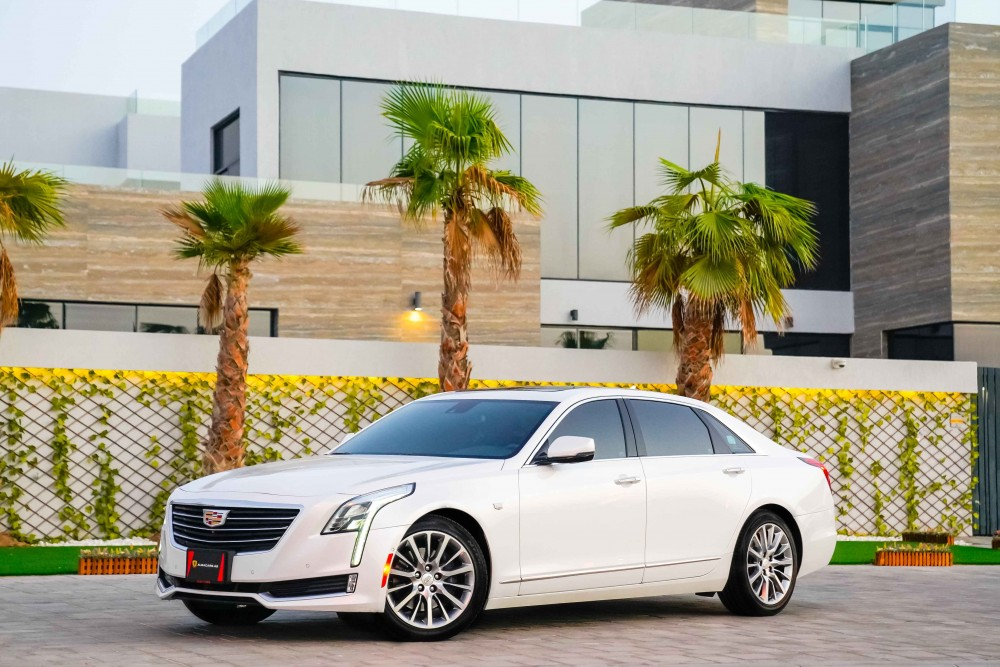 buy slightly used Cadillac CT6 3.6L V6 AWD without downpayment