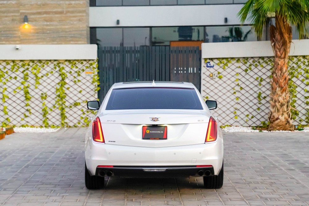 buy second hand Cadillac CT6 3.6L V6 AWD with warranty
