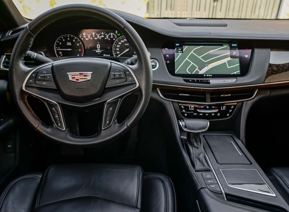 buy certified Cadillac CT6 3.6L V6 AWD without downpayment