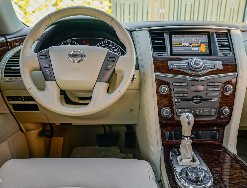 buy approved Nissan Patrol with warranty