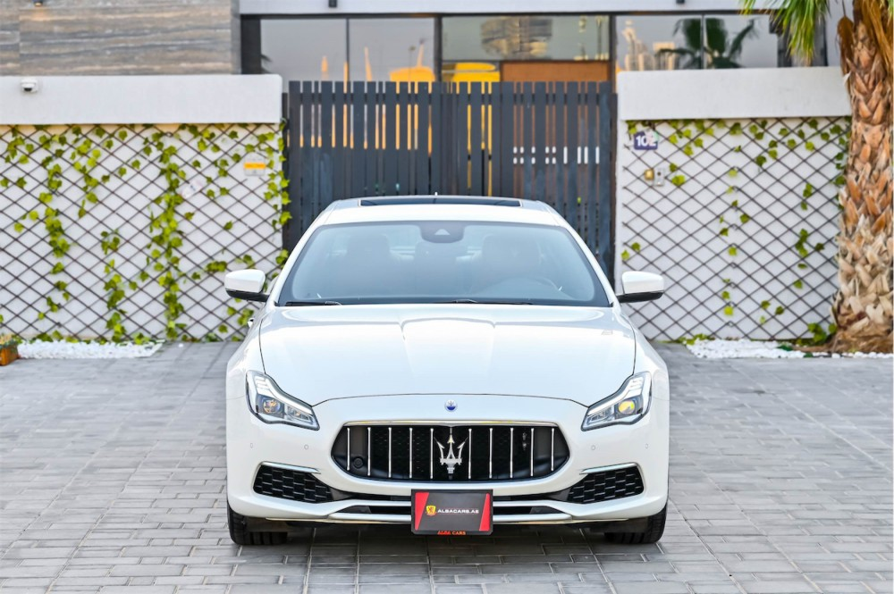 buy slightly used Maserati Quattroporte Granlusso without downpayment