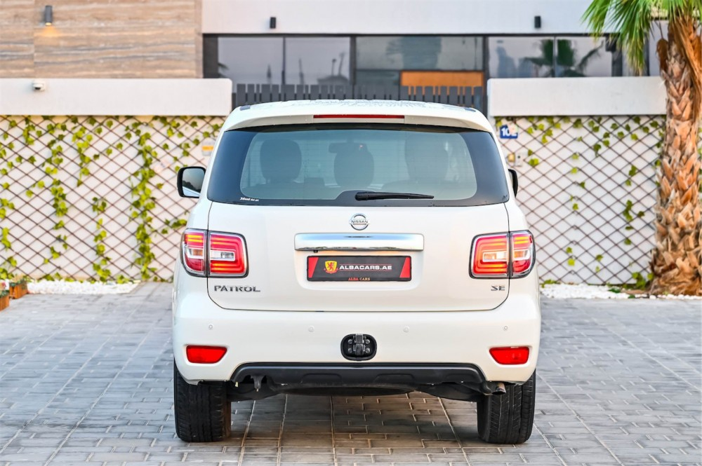 buy approved Nissan Patrol SE with warranty