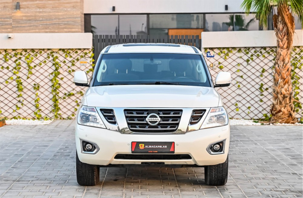 buy slightly used Nissan Patrol SE without downpayment