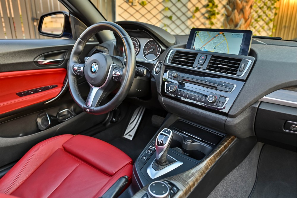 buy slightly used BMW 235i M-Kit without downpayment