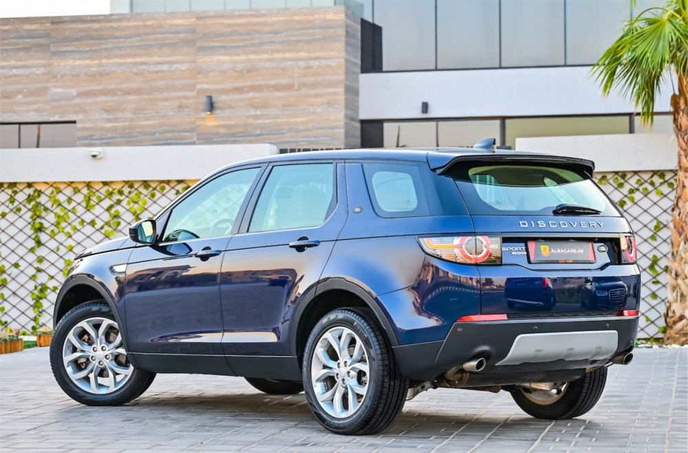 buy certified Land Rover Discovery Sport HSE with warranty