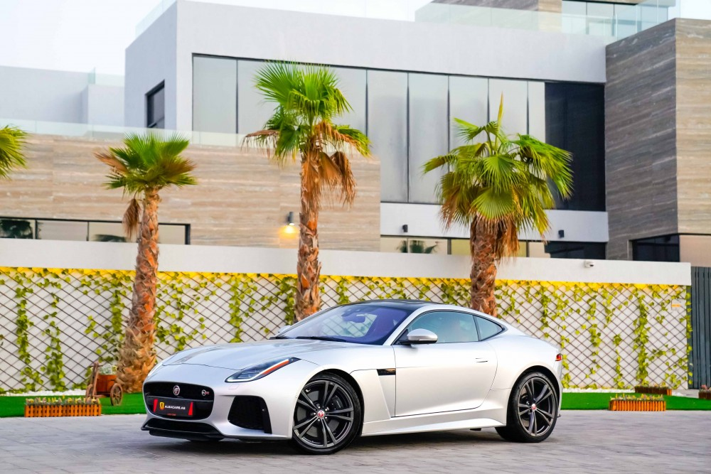 buy used BRAND NEW Jaguar F-Type SVR Coupe without downpayment