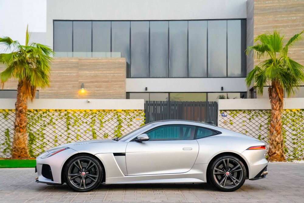 buy second hand BRAND NEW Jaguar F-Type SVR Coupe without downpayment