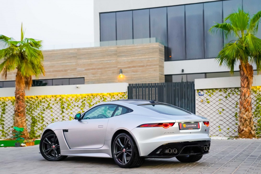 buy used BRAND NEW Jaguar F-Type SVR Coupe with warranty