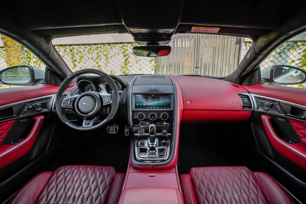 buy second hand BRAND NEW Jaguar F-Type SVR Coupe in UAE
