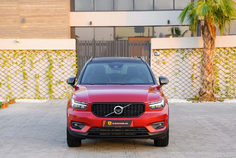 buy second hand Volvo XC40 R-Design with warranty