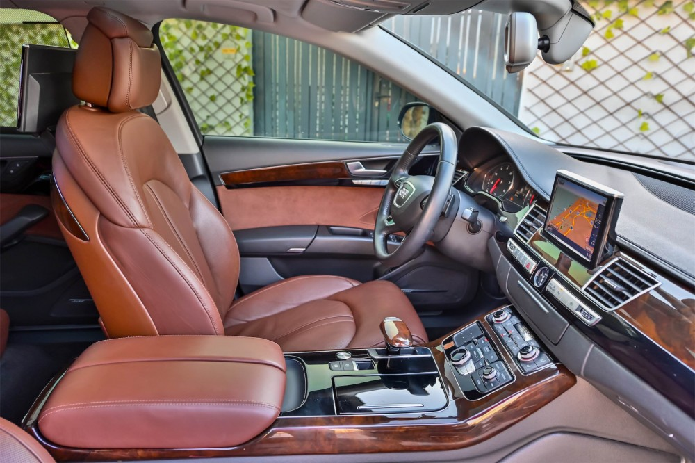 buy slightly used Audi A8L 50 TFSI without downpayment