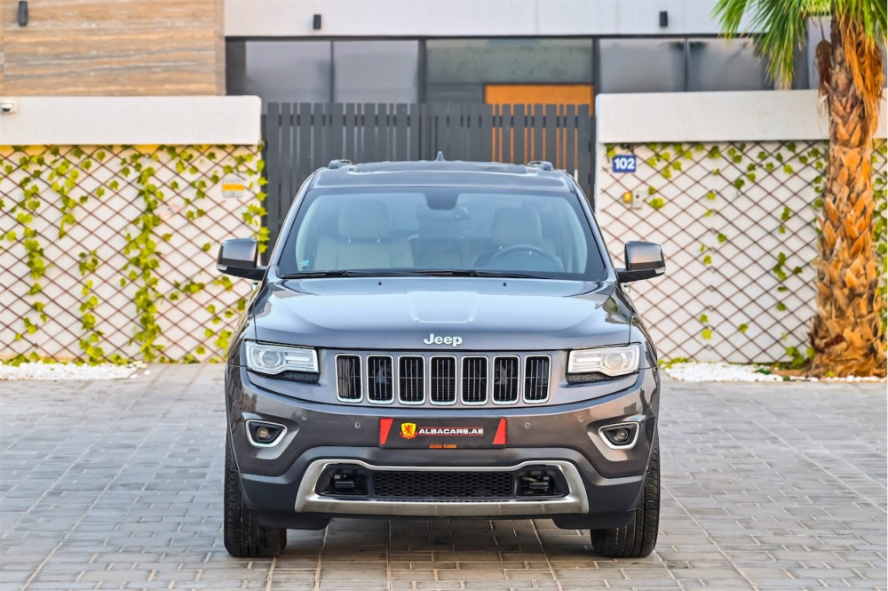 buy second hand Jeep Grand Cherokee V6 Limited with warranty