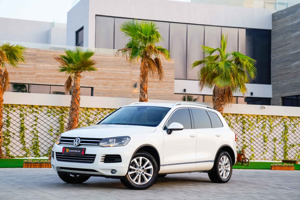 buy approved Volkswagen Touareg with warranty