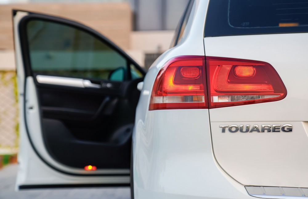 buy slightly used Volkswagen Touareg without downpayment