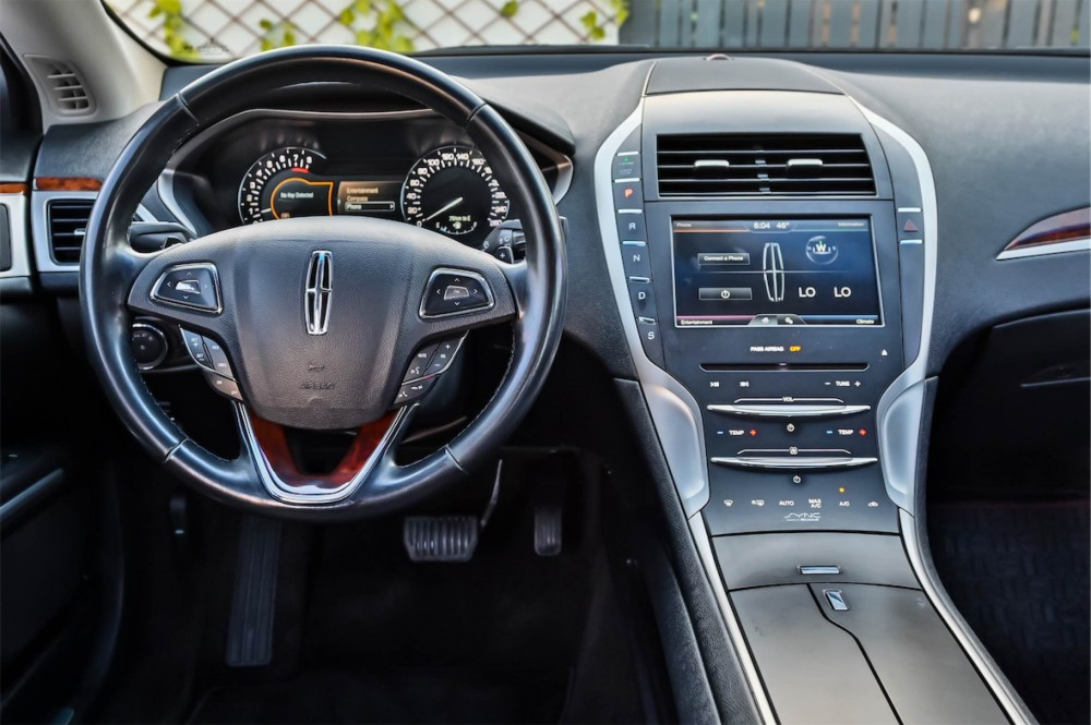 buy used Lincoln MKZ 2.0L with warranty