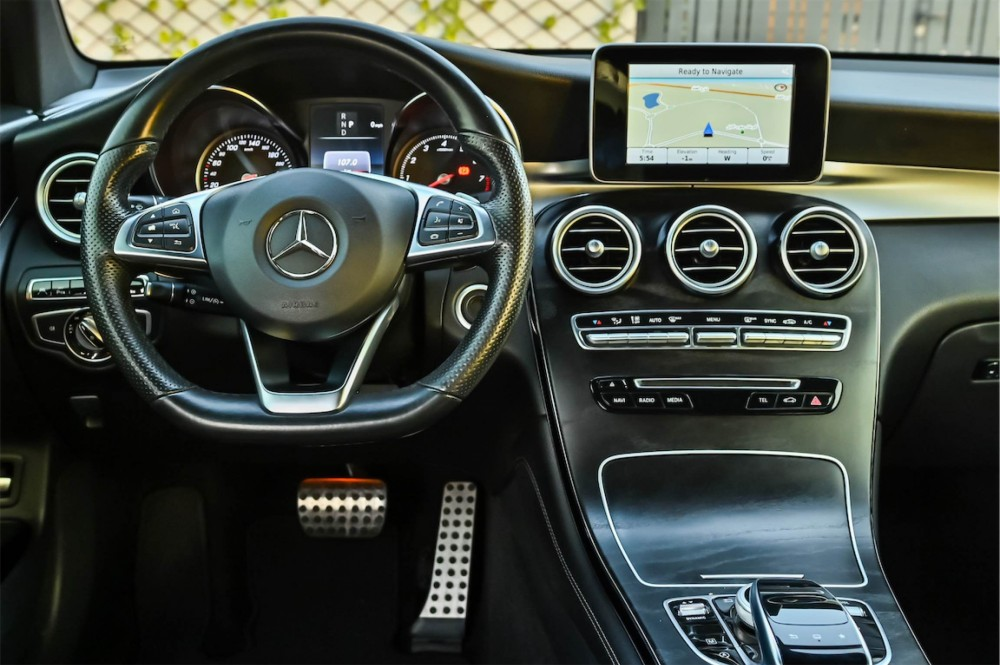 buy slightly used Mercedes-Benz GLC250 without downpayment