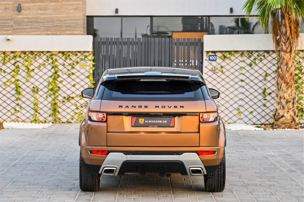 buy approved Range Rover Evoque Dynamic in UAE