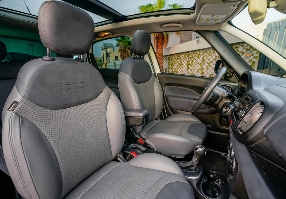 buy slightly used Fiat 500L without downpayment