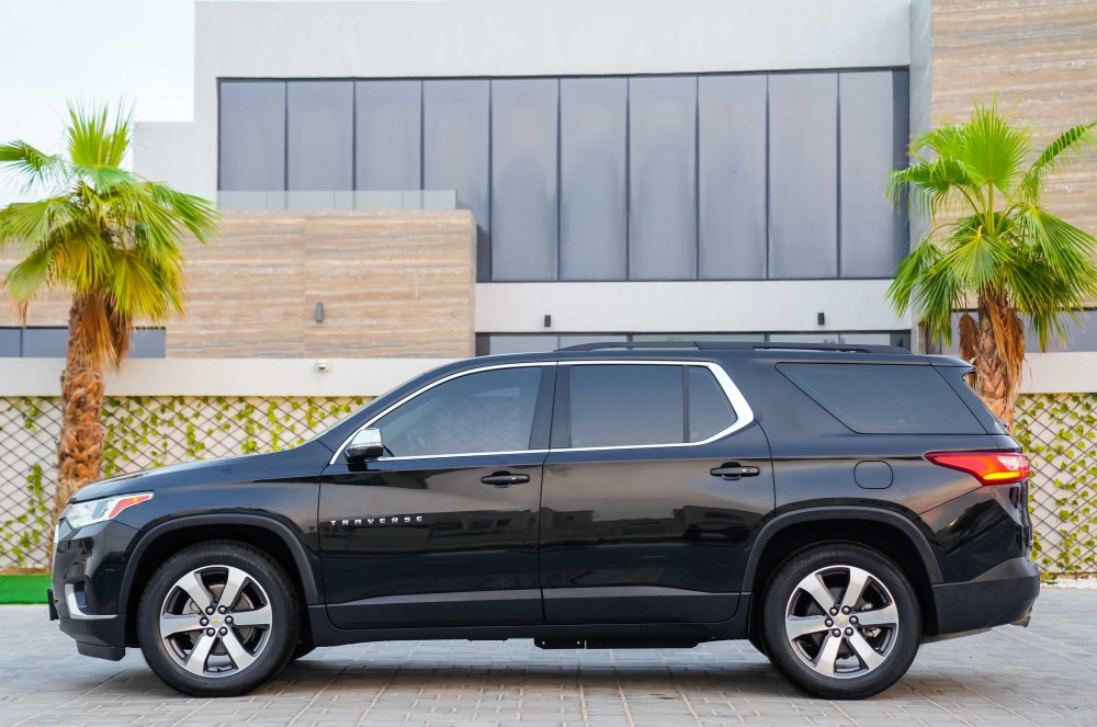 buy second hand Chevrolet Traverse 3LT without downpayment