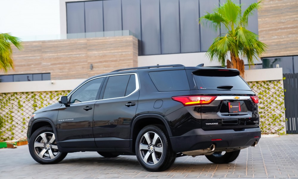 buy pre-owned Chevrolet Traverse 3LT with warranty