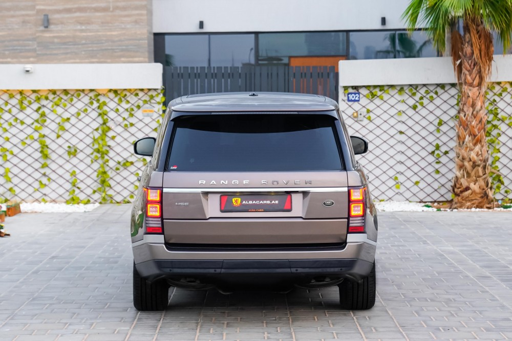 buy second hand Range Rover HSE without downpayment